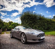Aston Martin DB9 Hire in Denton