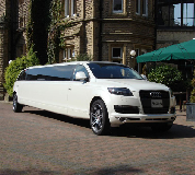 Audi Q7 Limo in Rainford