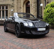 Bentley Continental Hire in Golbourne