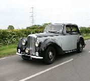 Bentley MK VI Hire in Macclesfield