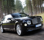 Bentley Mulsanne in Littleborough