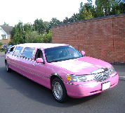Lincoln Towncar Limos in Sandbach