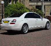 Mercedes S Class Hire in Bacup