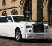 Rolls Royce Phantom Limo in Bacup