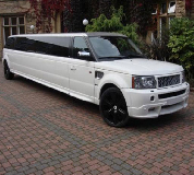 Range Rover Limo in Warrington