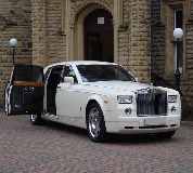 Rolls Royce Phantom Hire in Longridge