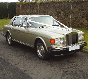 Rolls Royce Silver Spirit Hire in Golbourne
