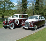 Ruby Baroness - Daimler Hire in Bollington