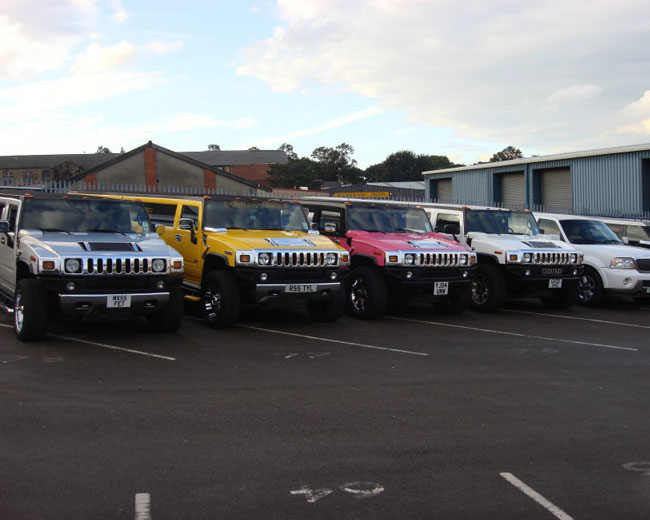 Jeep Limos and 4x4 Limos in Manchester
